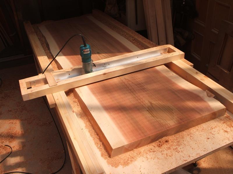 吉野杉 一枚板 平面仕上げ サンダー仕上げ