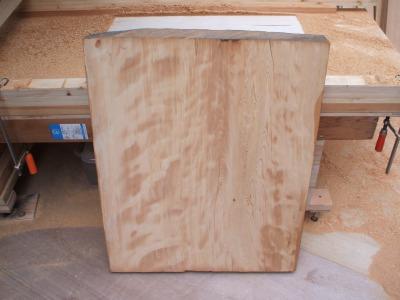木曽檜 一枚板 平面仕上げ